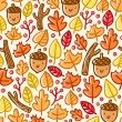 Royalty-Free Stock Vector Image: Autumn pattern