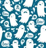 幽霊のパターン — ストックベクタ