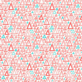 Triangle shapes pattern — Stock Vector