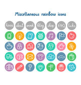 Miscellaneous doodle icons — Stock Vector