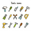 Stock Vector: Tools icons