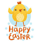 Happy Easter greetings — Stock Vector