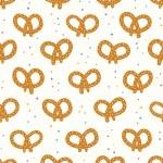 Pretzels pattern — Stock Vector #40530957