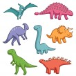 Dinosaurs — Stock Vector