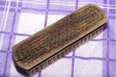 Old wooden brush. — Stock Photo