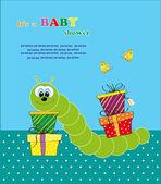 Baby shower. vector illustration — Stock Vector