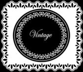 Vintage frame design. vector illustration. — Stock Vector