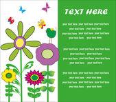 Cute greeting card. vector illustration — 图库矢量图片