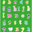 English alphabet — Stock Vector #19613087