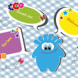 Set of children's banners. vector illustration — Stock Vector #19686915