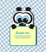 Funny animals. vector illustration — Stock Vector