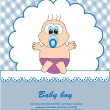 Baby. vector illustration — Stock Vector