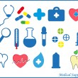 Royalty-Free Stock Vector Image: Medical supplies. Vector.