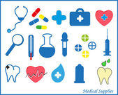 Medical supplies. Vector. — Stock Vector