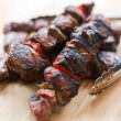 Beef kebab — Stock Photo