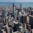 Chicago skyscrapers from Willis Tower — Stock Photo #23076618