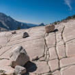 Panorama of stone hill at Yosemite National Park — Stock Photo