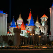 Excalibur Hotel and Casino at night in Las Vegas — Stock Photo #29432445