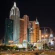 New York-New York Hotel & Casino in Las Vegas at night — Stock Photo #29432477