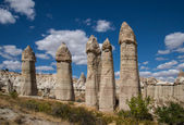 Rocks of Love Valley in Cappadocia — Stock Photo