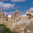 Beautiful crags of Cappadocia — Stock Photo #39152341