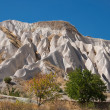 Stock Photo: Unusual crags of Cappadocia