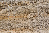 Weathered yellow tuff — Stock Photo