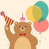 Birthday surprise — Stock Vector