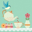 Tea time — Stock Vector #39319987