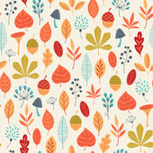 Autumn colors pattern — Stock Vector