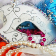 Mardi Gras Mask1 - Stock Photo