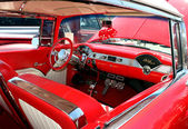 Classic chevy belaire interieur — Stockfoto