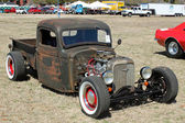 Antique Chevy Pickup — Stock Photo
