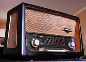 Antique Radio 1 — Stock Photo