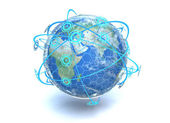 Global Network — Stock Photo