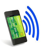 NFC Digital Wallet — Stock Photo