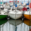 Stock Photo: Colour boats