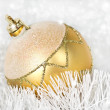 Foto Stock: Christmas tree ball