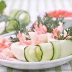Stuffed with caviar and shrimp eggs — Stock Photo #16261703