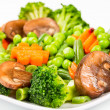 Steamed vegetables — Stock Photo #24933283