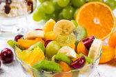 Salad of fruits and berries — Stock Photo