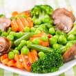 Steamed vegetables — Stock Photo #28540337