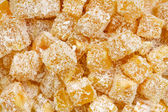 Eastern sweet Turkish delight — Stock Photo