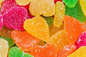 Candied fruit candy — Stock Photo