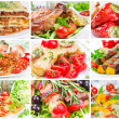 Collage of food — Stock Photo #36111271