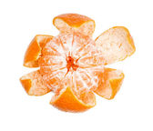Partially purified mandarin — Stock Photo