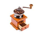 Hand coffee mill — Stock Photo