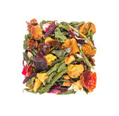 Dry herbal tea with fruits — Foto Stock