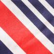 Colorful Striped Fabric Background, Texture — Stock Photo