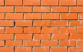 Red Bricked Wall — Stockfoto